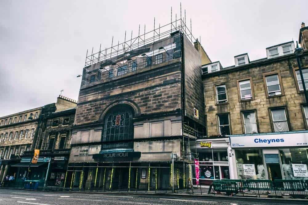Commercial Scaffolding Edinburgh