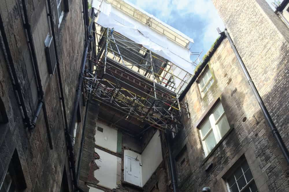 Refurbishment Scaffolding Glasgow