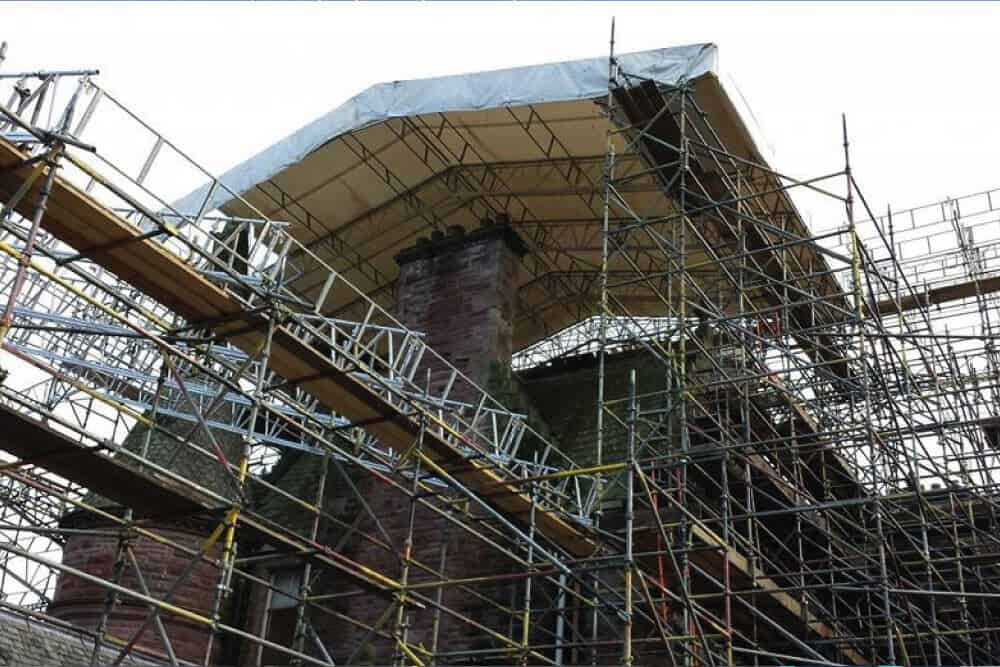 Refurbishment Scaffolding